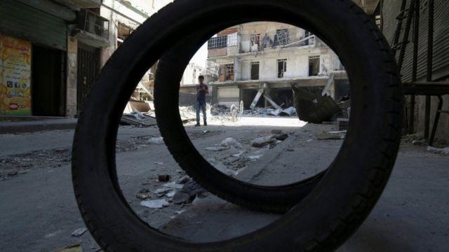 सीरिया, युद्ध