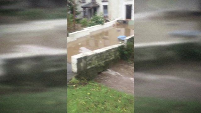 Burry Port flooding