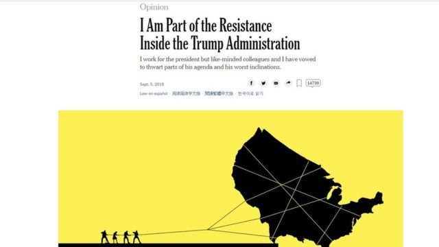 Artículo de The New York Times