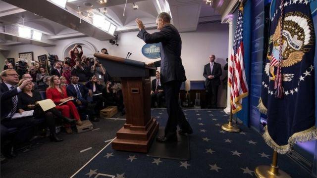 Остання прес-конференція Барака Обами