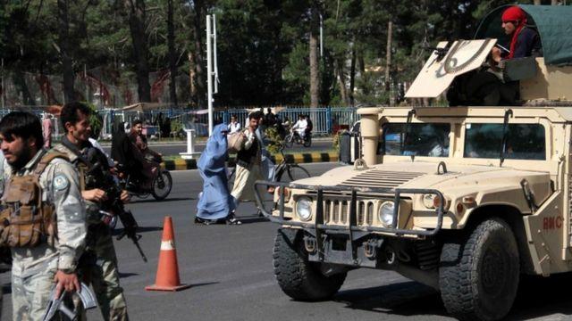 Патруль правительственных войск Афгаинстана