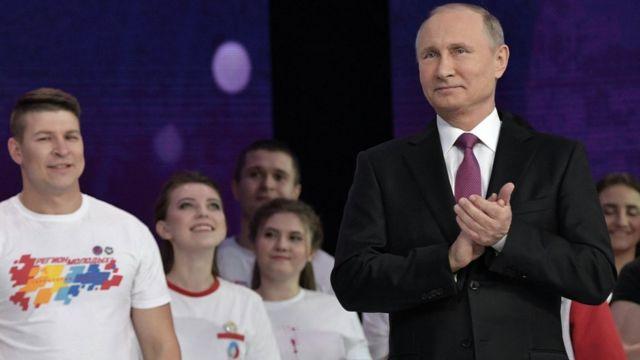 Vladimir Putin, presidente de Rusia, el 6 de diciembre de 2017