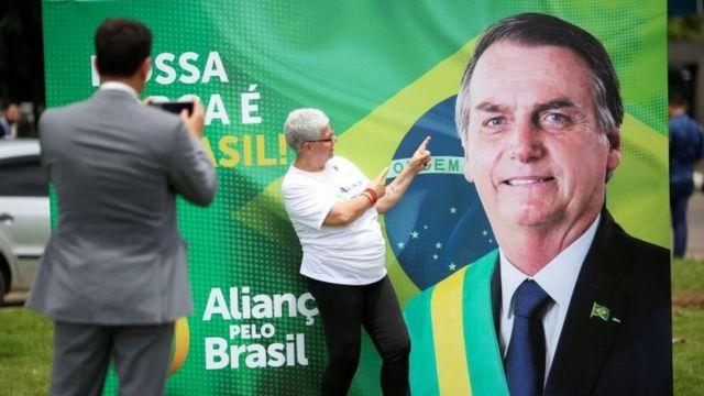 Cartaz do Aliança pelo Brasil