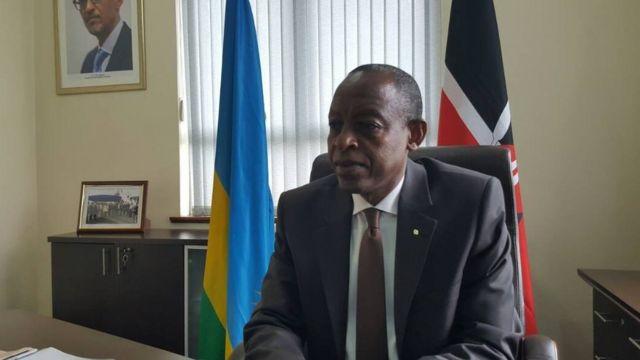 James Kimonyo aserukira Urwanda mu gihugu ca Kenya