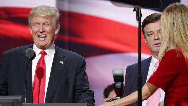 Trump y Manafort