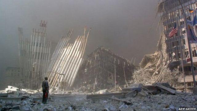 अमरीका, पेंटागन, वर्ल्ड ट्रेड सेंटर, 9/11