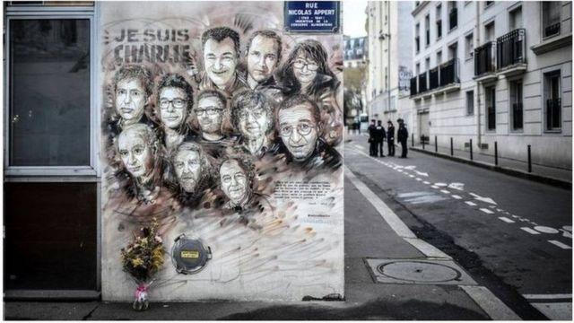 مجله طنز شارلی ابدو در فرانسه