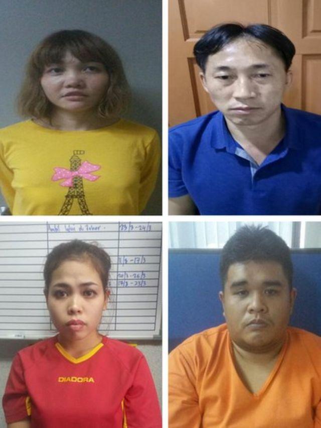 مشتبه بهم في حادث مقتل الأخ الأكبر لزعيم كوريا الشمالية