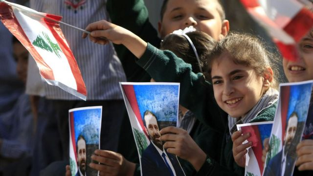 منح الثقة لحكومة الحريري