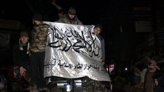 مقاتلون من احرار الشام