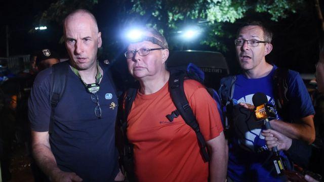 ผู้เชี่ยวชาญจากอังกฤษเดินทางถึงถ้ำหลวง-ขุนน้ำนางนอนแล้ว