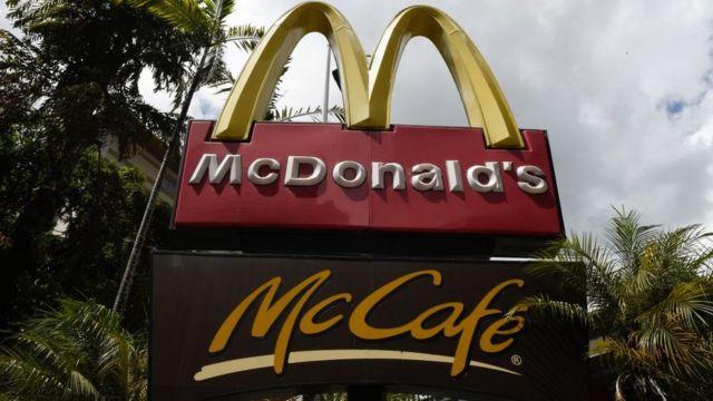 McDonald's en Venezuela.