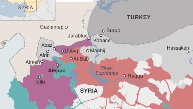 Garuruwan Syria