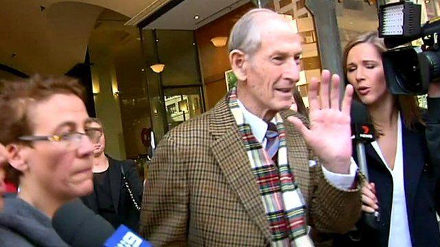 Victor Twartz arrives at court