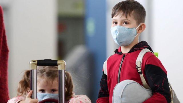 Дети из России возвращаются домой из Китая