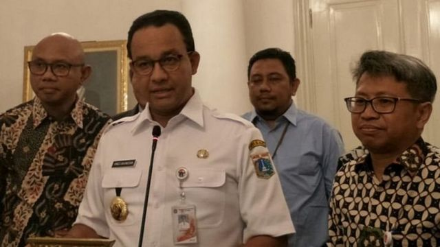 Anies Baswedan Jakarta Terapkan Kembali Psbb Seperti Di Awal Pandemi Rem Darurat Harus Kita Tarik Bbc News Indonesia