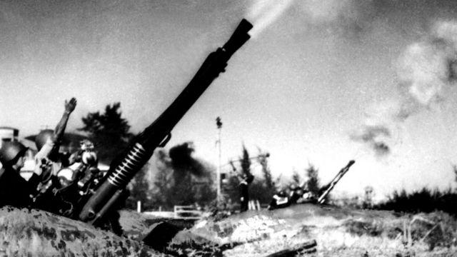 Pháo cao xạ của Bắc Việt Nam trong chiến tranh - hình tư liệu