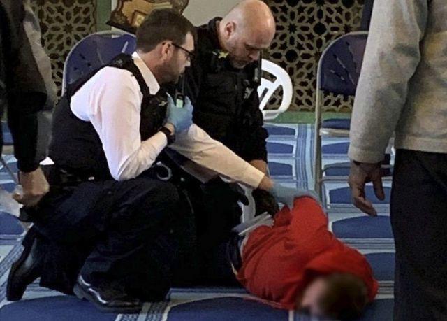 Tersangka pelaku penikaman muazin di Central Mosque