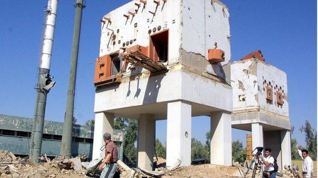 """أطلال مفاعل """"أوزيراك"""" النووي العراقي"""