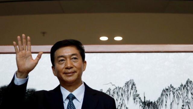 駱惠寧在香港中聯辦履新(6/1/2020)
