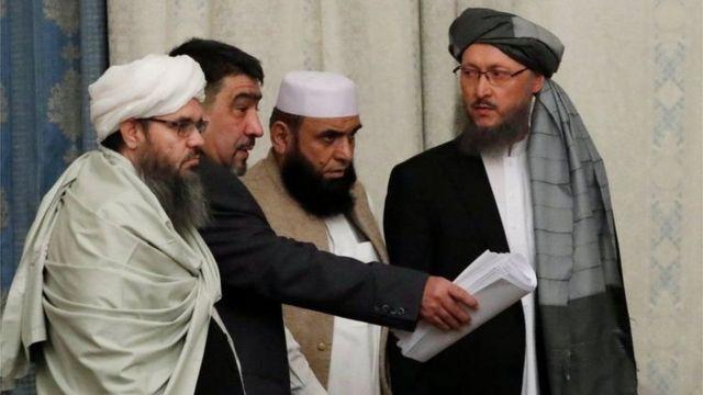 Ergada kooxda Taliban ee ka qaybgalay wadahadaladii Moscow