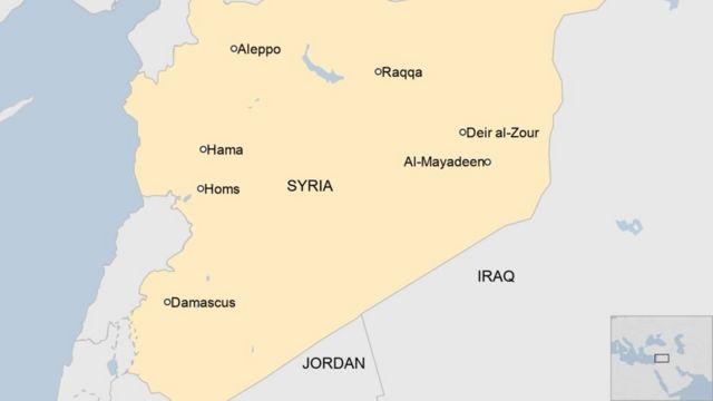 Ramani ya Syria