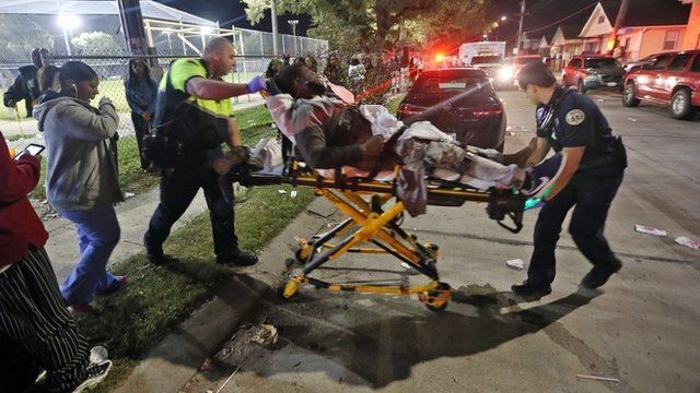 Person on a stretcher