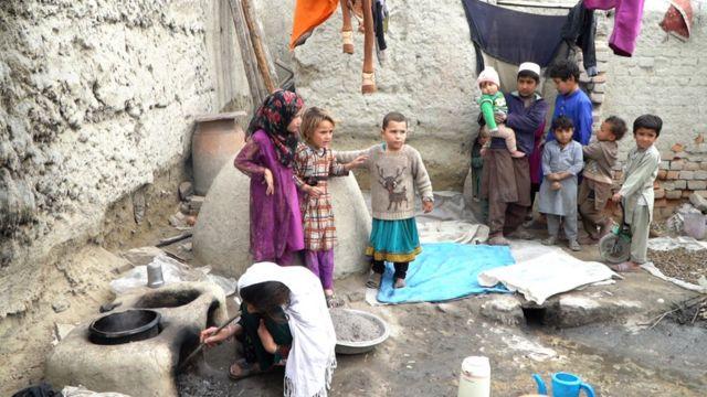 افغان کډوال، پاکستان
