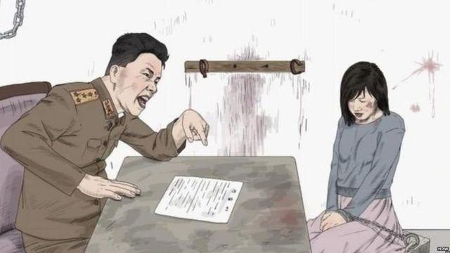 उत्तर कोरिया अधिकारी