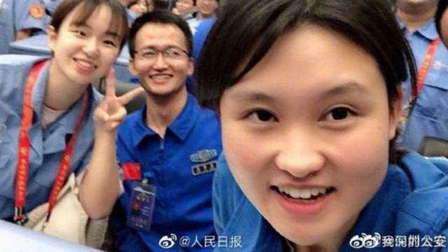 """رسانههای حکومتی میگویند که خانم ژو مانند """"خواهر بزرگی"""" است که میتواند الگوی جوانان چینی باشد"""