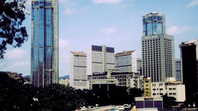 Parque Central en 1975