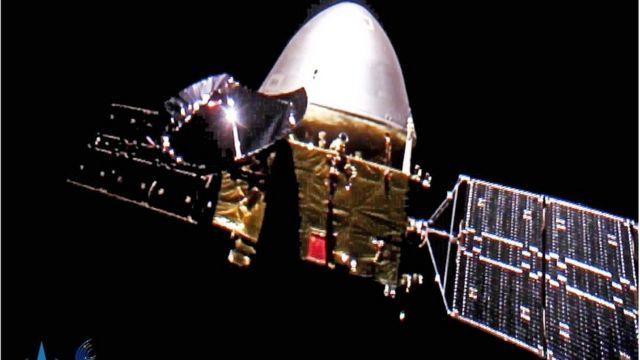 """""""天問一號""""探測器計劃完成""""繞落巡""""任務,即對火星進行""""環繞"""",""""著陸""""和""""巡視"""""""