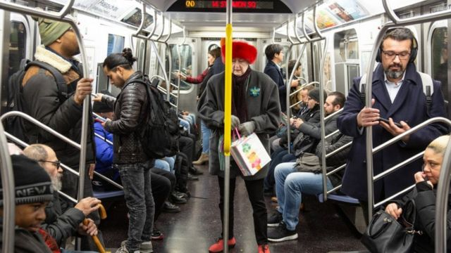 Metrô de Nueva York.