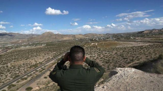 मैक्सिको और अमरीका की सीमा