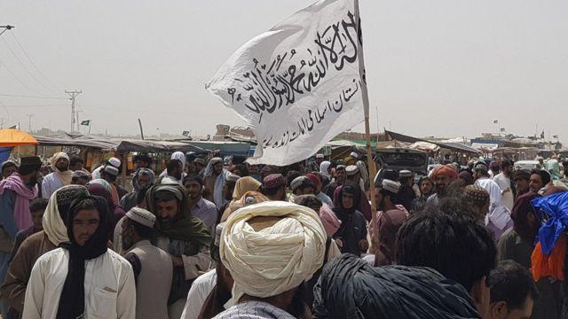 bandera talibán