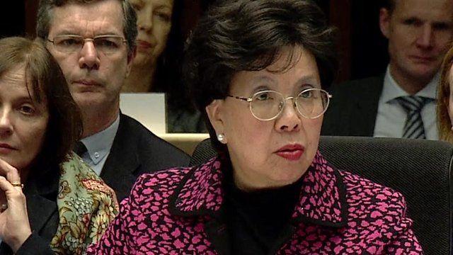 WHO director general Dr Margaret Chan