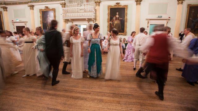Participantes en el baile de este año