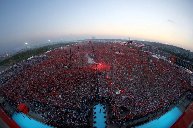 Rally en Estambul
