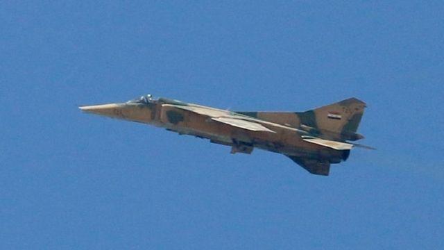 Suriye savaş uçağı