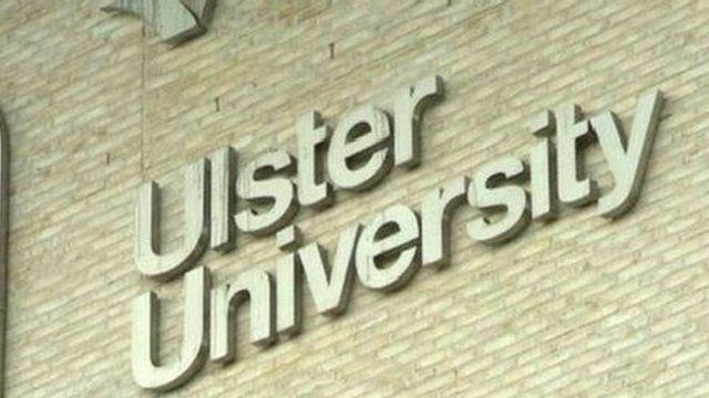 Ulster University sign
