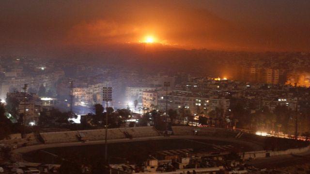 قصف ليلي على حلب
