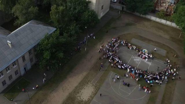 Минулорічне свято Першого вересня у СШ 148 ім. Івана Багряного