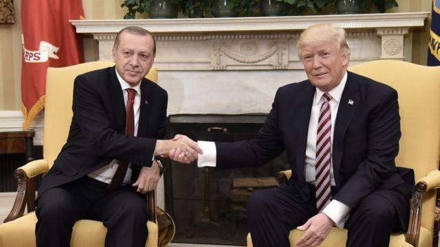 Erdoğan ile Trump