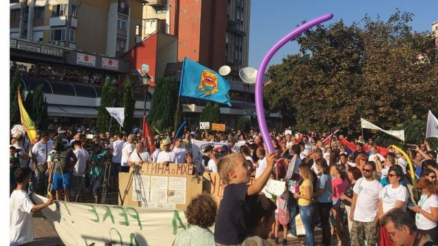 Protest Pirot