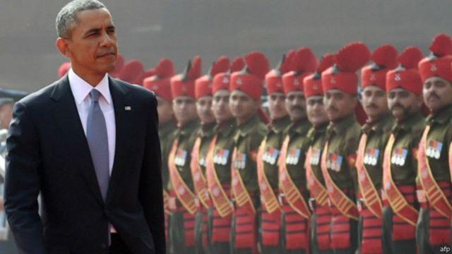 भारत में बराक ओबामा