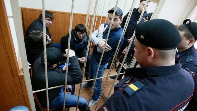 Заур Дадаев, братья Анзор и Шадид Губашевы, Темирлан Эскерханов и Хамзат Бахаев