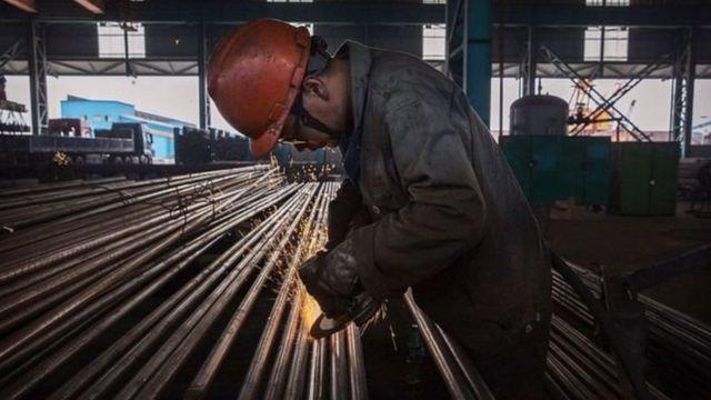 中国在生产率