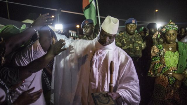 Shugaba Jammeh na Gambia