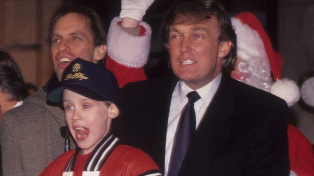 Donald Trump, Evde Tek Başına