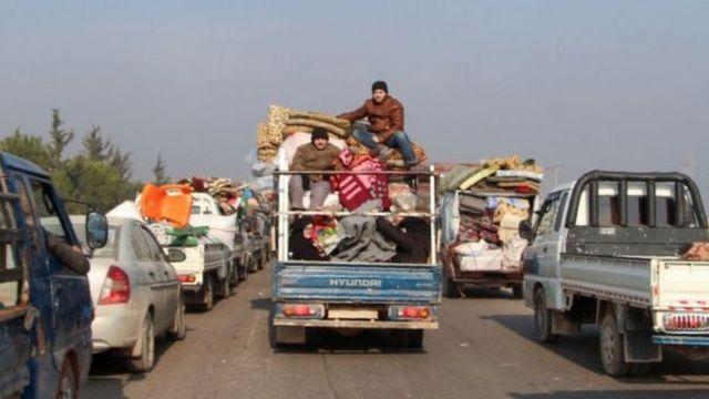 نازحون من محافظة إدلب